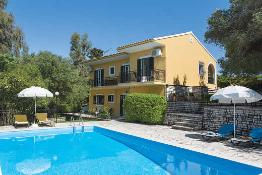 £471.00 for Corfu self catering holiday