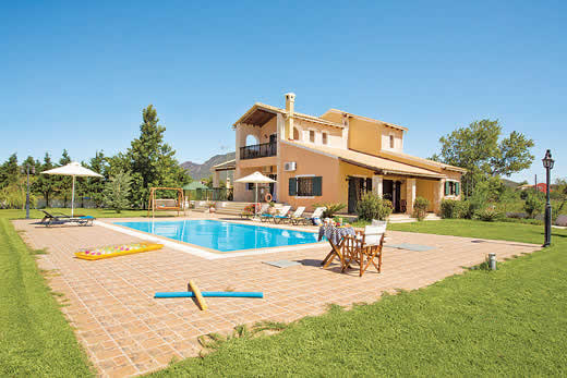 £603.00 for Corfu self catering holiday