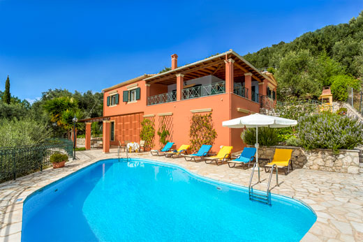 £513.00 for Corfu self catering holiday