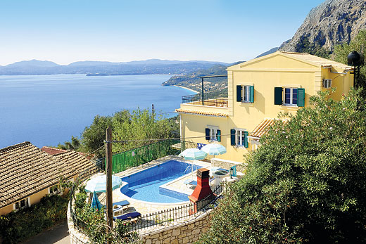 £712.00 for Corfu self catering holiday