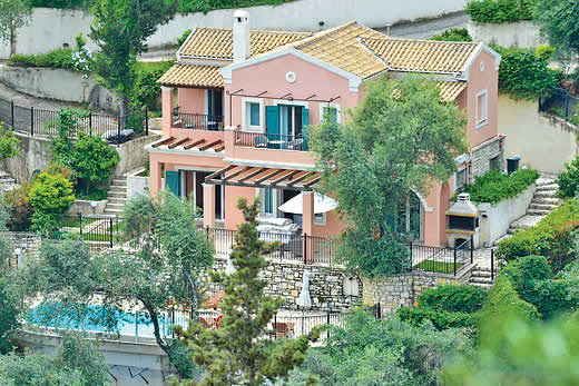 £1143.00 for Corfu self catering holiday