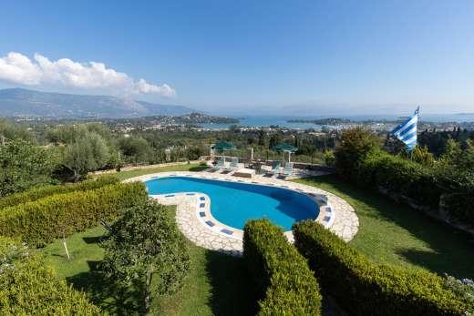£327.00 for Corfu self catering holiday villa