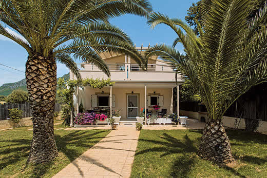 £665.00 for Corfu self catering holiday