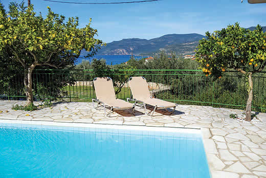 £391.00 for Peloponnese self catering holiday