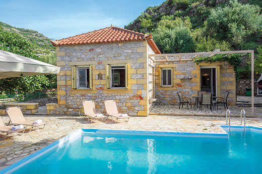Peloponnese a great place to enjoy a self catering holiday villa
