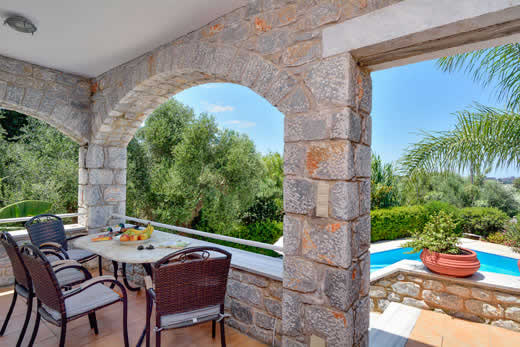 £454.00 for Peloponnese self catering holiday