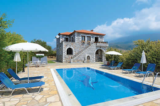 Peloponnese a great place to enjoy a self catering holiday