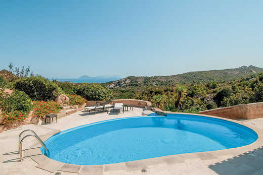 £3543.00 for Sardinia self catering holiday