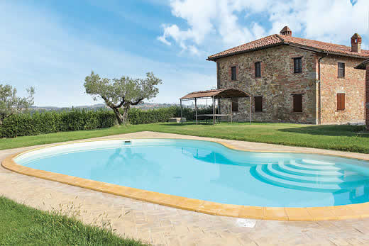 £2010.00 for Umbria self catering holiday
