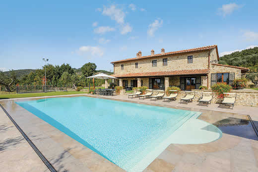 Holiday villa offer for Umbria with swimming pool