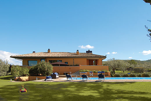Holiday villa deal for Umbria with private swimming pool