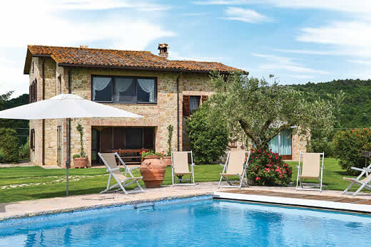Enjoy a great self catering holiday in  Umbria