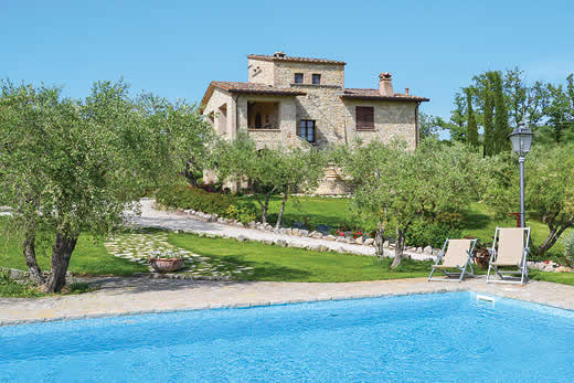Umbria a great place to enjoy a self catering holiday villa