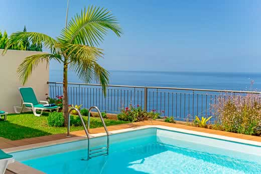 £833.00 for Madeira self catering holiday