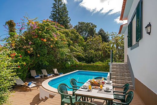 £1057.00 for Madeira self catering holiday