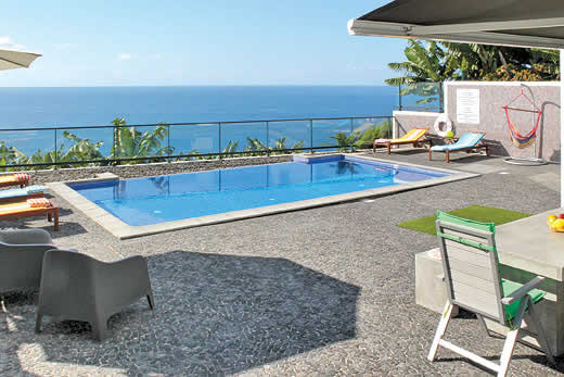 £1036.00 for Madeira self catering holiday