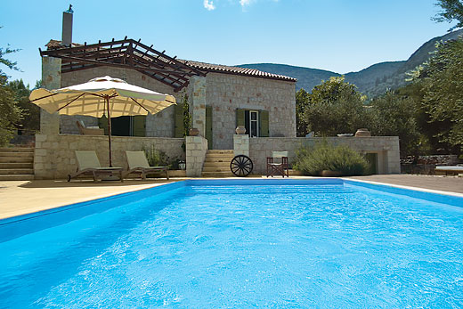 Holiday villa offer for Ithaka with swimming pool