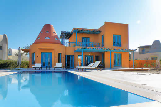 Enjoy a great self catering holiday in  Hurghada