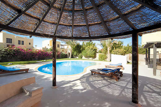 Holiday villa offer for Hurghada with swimming pool