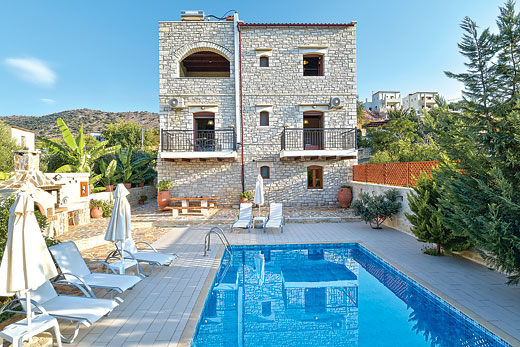 £1471.00 for Crete self catering holiday