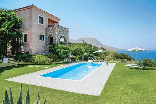 Enjoy a great self catering holiday villa in Crete