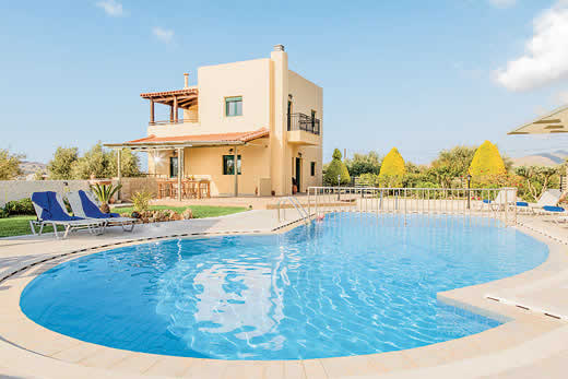 £303.00 for Crete self catering holiday villa