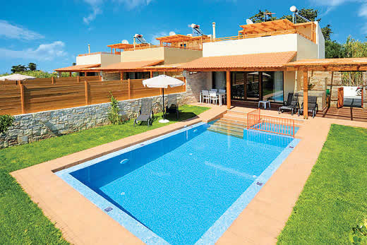 £523.00 for Crete self catering holiday