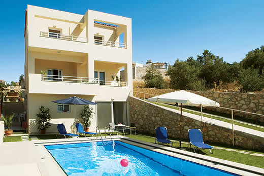 Holiday villa deal for Crete with private swimming pool
