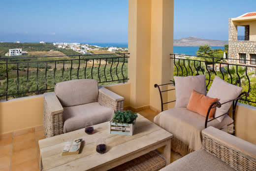 £648.00 for Crete self catering holiday