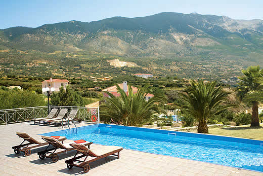 £369.00 for Kefalonia self catering holiday villa