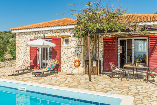 £638.00 for Kefalonia self catering holiday