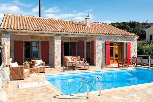 Enjoy a great self catering holiday villa in Kefalonia
