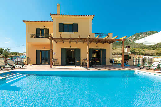 £316.00 for Kefalonia self catering holiday