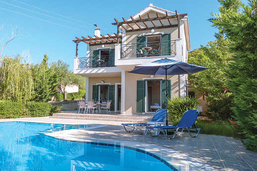 £295.00 for Kefalonia self catering holiday villa