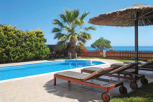 £475.00 for Kefalonia self catering holiday