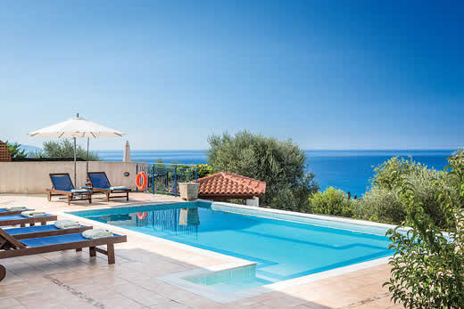 £835.00 for Kefalonia self catering holiday