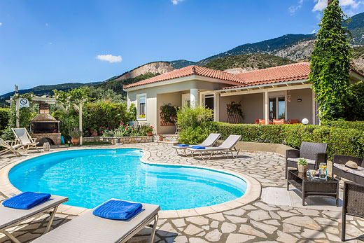£412.00 for Kefalonia self catering holiday