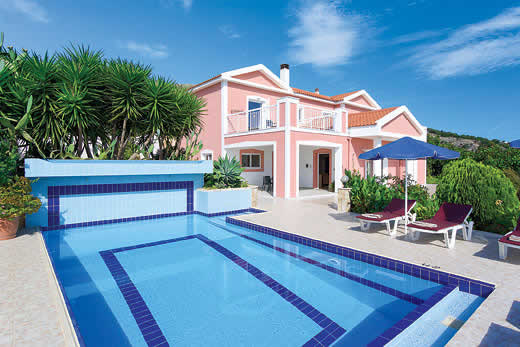 £834.00 for Kefalonia self catering holiday