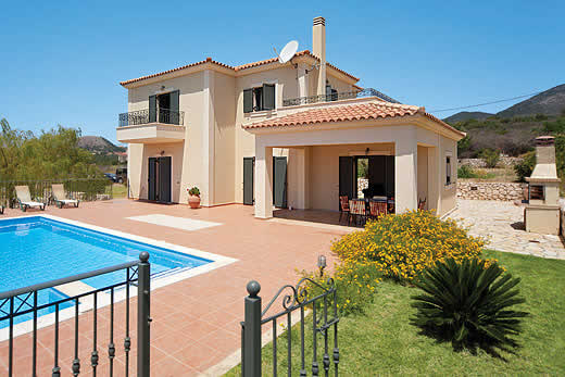 £391.00 for Kefalonia self catering holiday villa