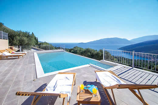 Kefalonia a great place to enjoy a self catering holiday villa