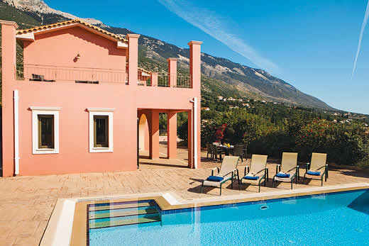 £348.00 for Kefalonia self catering holiday villa