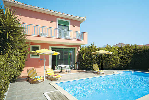 £295.00 for Kefalonia self catering holiday