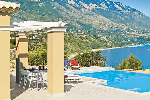 £733.00 for Kefalonia self catering holiday