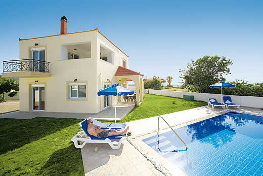 £570.00 for Rhodes self catering holiday