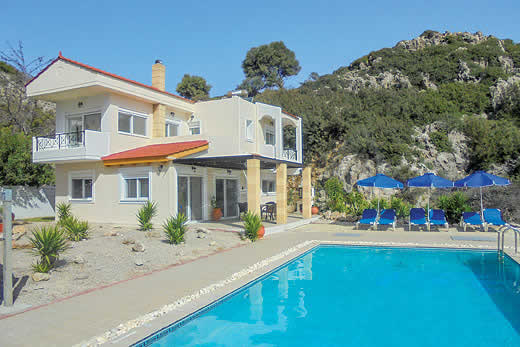 £540.00 for Rhodes self catering holiday