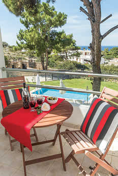 £471.00 for Rhodes self catering holiday