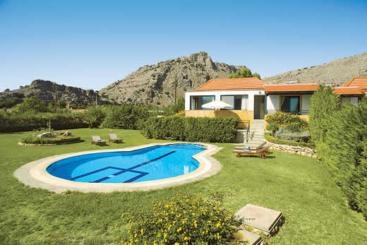 £1065.00 for Rhodes self catering holiday