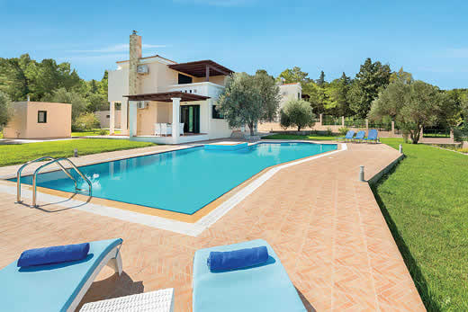 £1072.00 for Rhodes self catering holiday