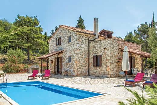 Holiday villa deal for Zakynthos with private swimming pool