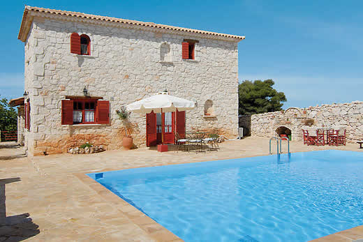 £952.00 for Zakynthos self catering holiday